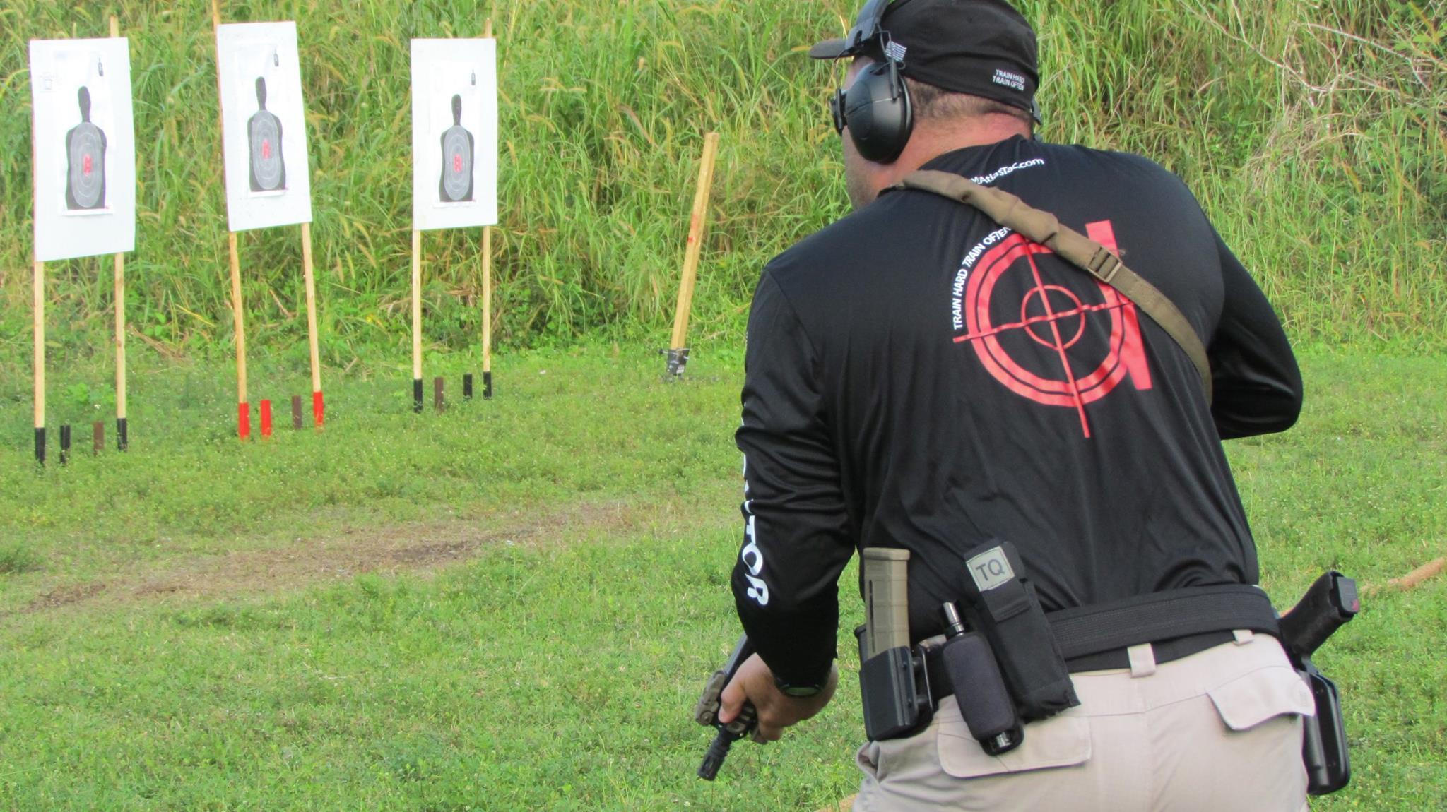 ATT instructor range close back